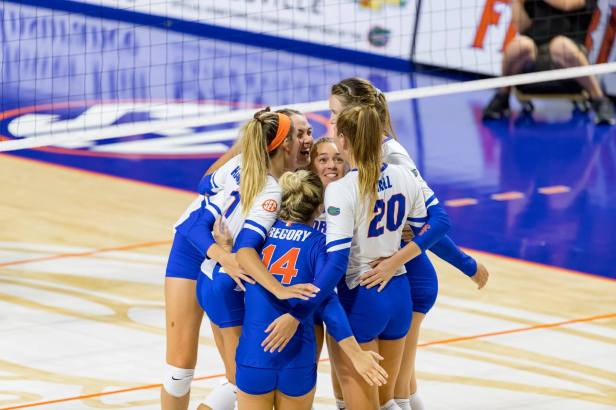 Florida Volleyball Finally Back to Winning Ways After Rough Start