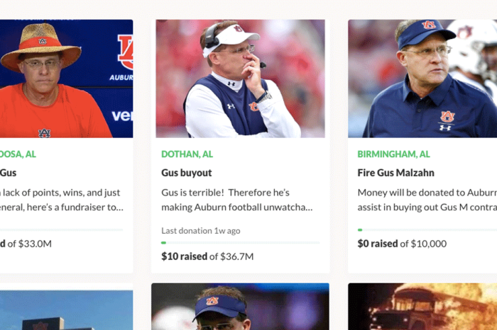 Auburns Fans Are So Fed Up with Malzahn, They're Starting GoFundMe Campaigns