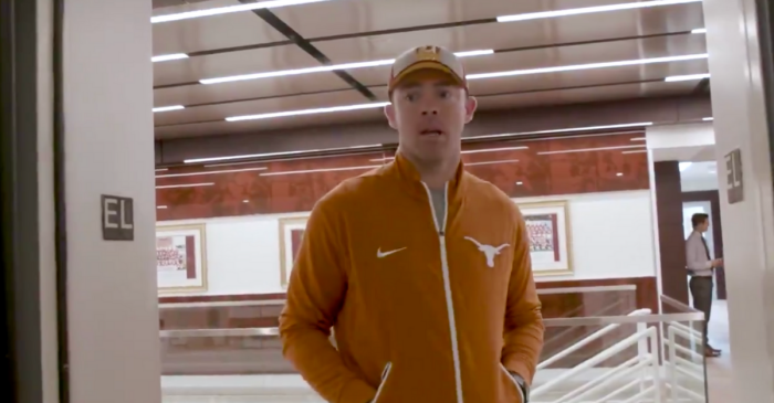 WATCH: Red River Rivalry Gets Intense Inside Redskins Facility