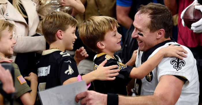 Drew Brees Gives Kids Amazing Advice After Breaking NFL Record