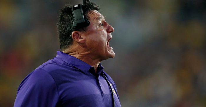 USC Reportedly Passed on Ed Orgeron Because of His Voice