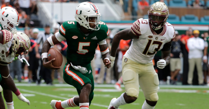 Florida State Blows Big Lead to Lose at Miami for the First Time Since 2004