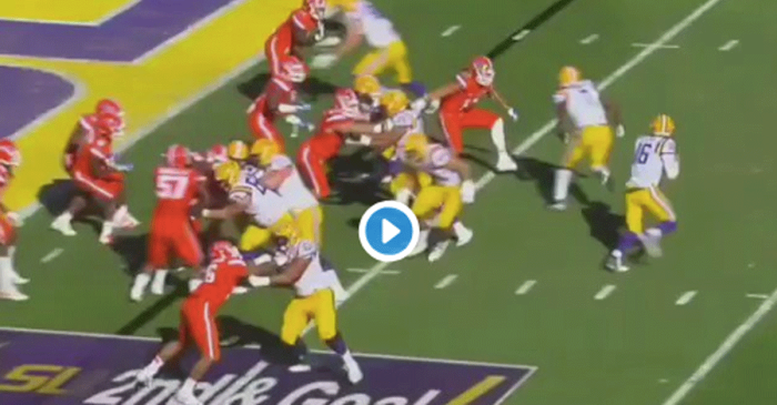 This Florida LB Needs to Mature from Punting into Stands to a Team Leader