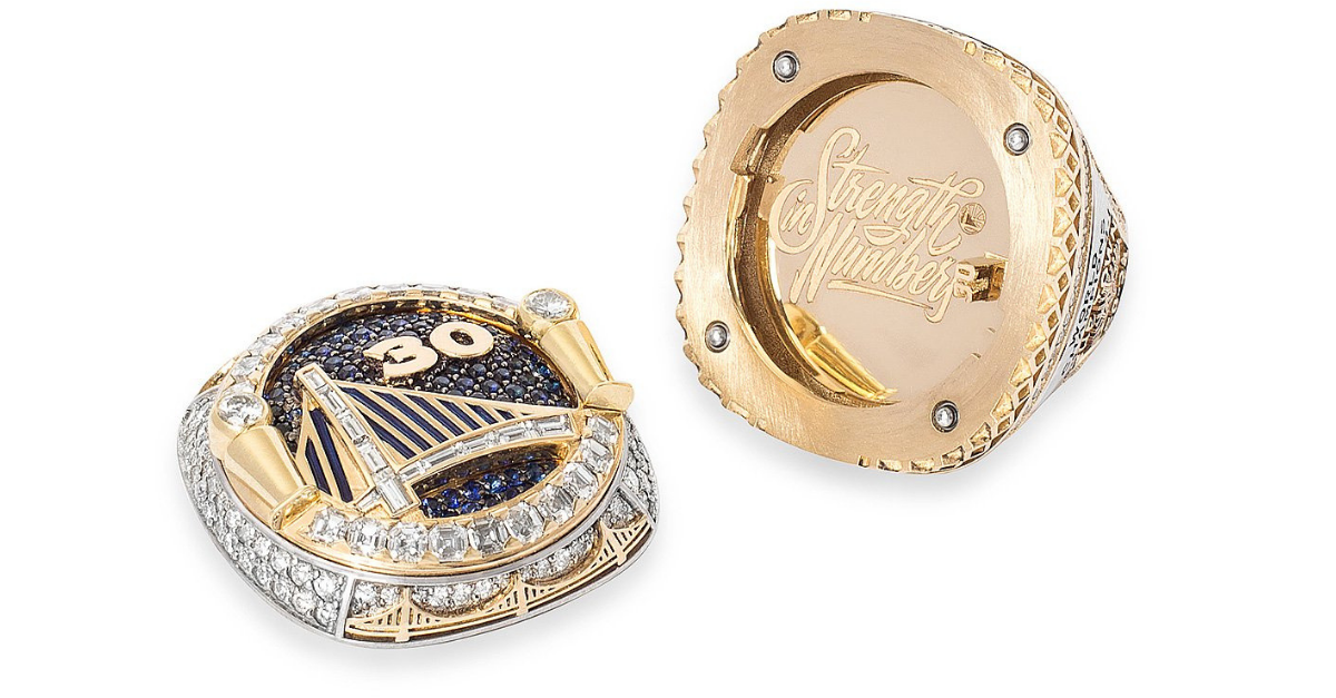 Golden State Warriors Rings