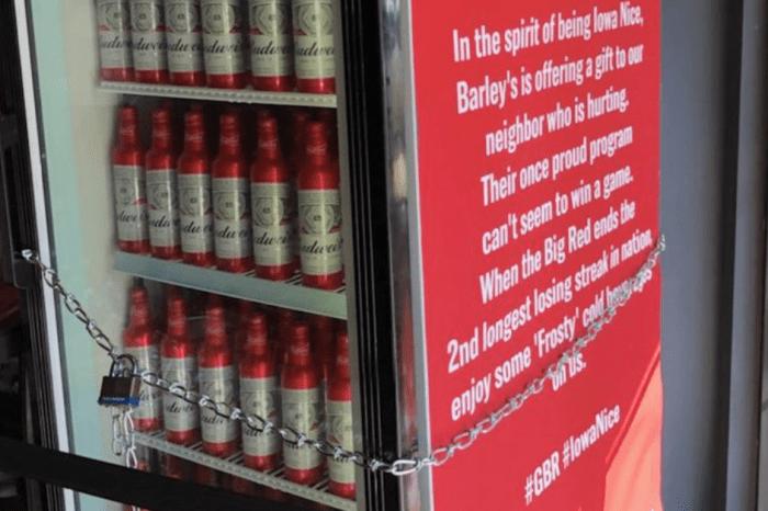 Iowa Bar Trolls Nebraska Fans With Hilarious Free Beer Offer
