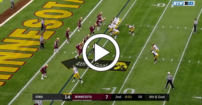 Crazy Formation Creates Trick Play Touchdown for Iowa