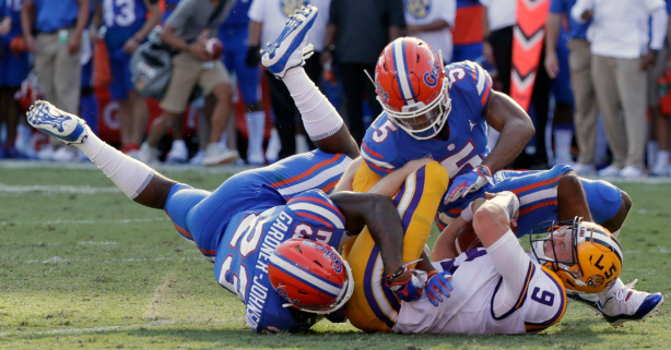 "Costly Turnovers Sink LSU at ""The Swamp"" Once Again"