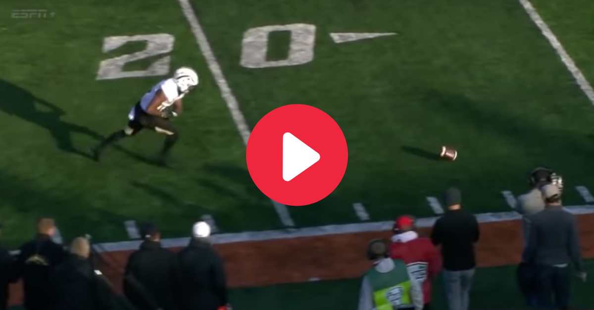 This Catch-Fumble-Touchdown Makes No Sense, But It Worked