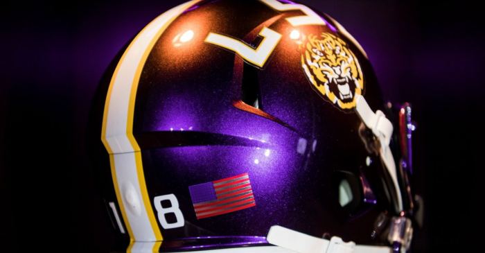2 SEC Teams Unveil Homecoming Helmets That'll Steal the Spotlight