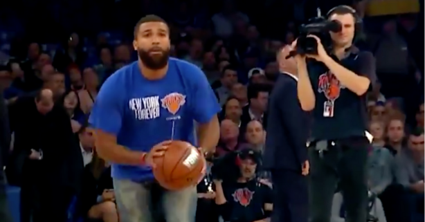 Knicks Fan Hits Half-Court Shot Before New York Even Makes a Field Goal