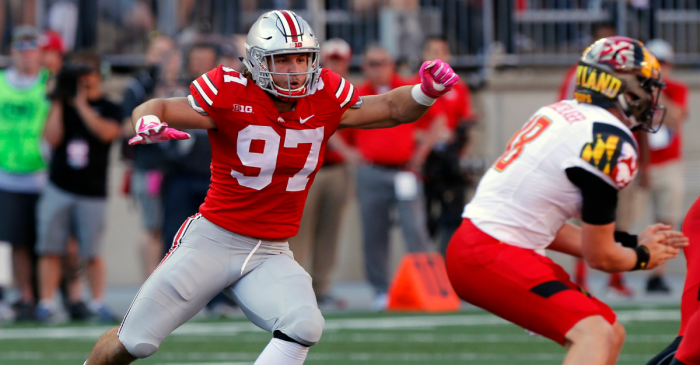 Could Ohio State's Title Hopes Be In Jeopardy With Nick Bosa Leaving School?