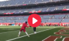 Patrick Mahomes 90 Yard Throw