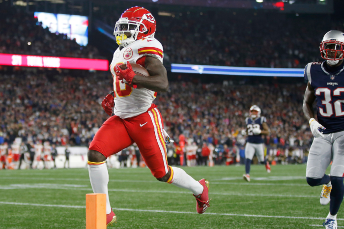 Patriots Fan Gets Lifetime Ban, Criminal Charges for Splashing Tyreek Hill with Beer