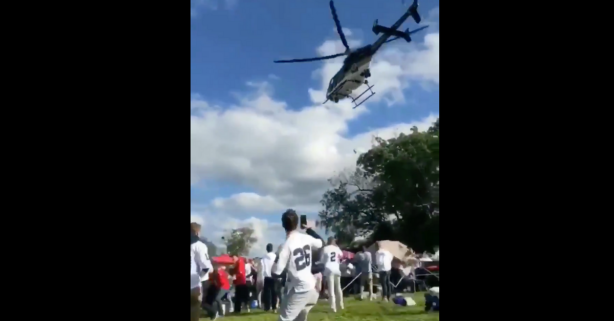Police Helicopter Buzzes Penn State Tailgate and Brings Federal Investigation
