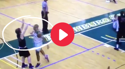Basketball Player's Punch Was So Dirty He Wasn't Allowed Back on Campus