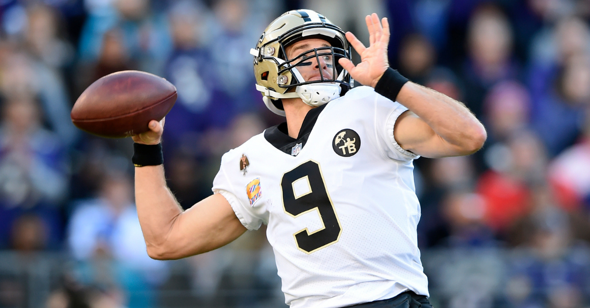 """Drew Brees """"Could Not Be More Impressed"""" with This College Quarterback"""