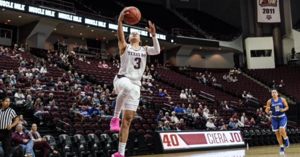 Final Exhibition Tune Up Shows Major Promise for Aggies Women's Hoops