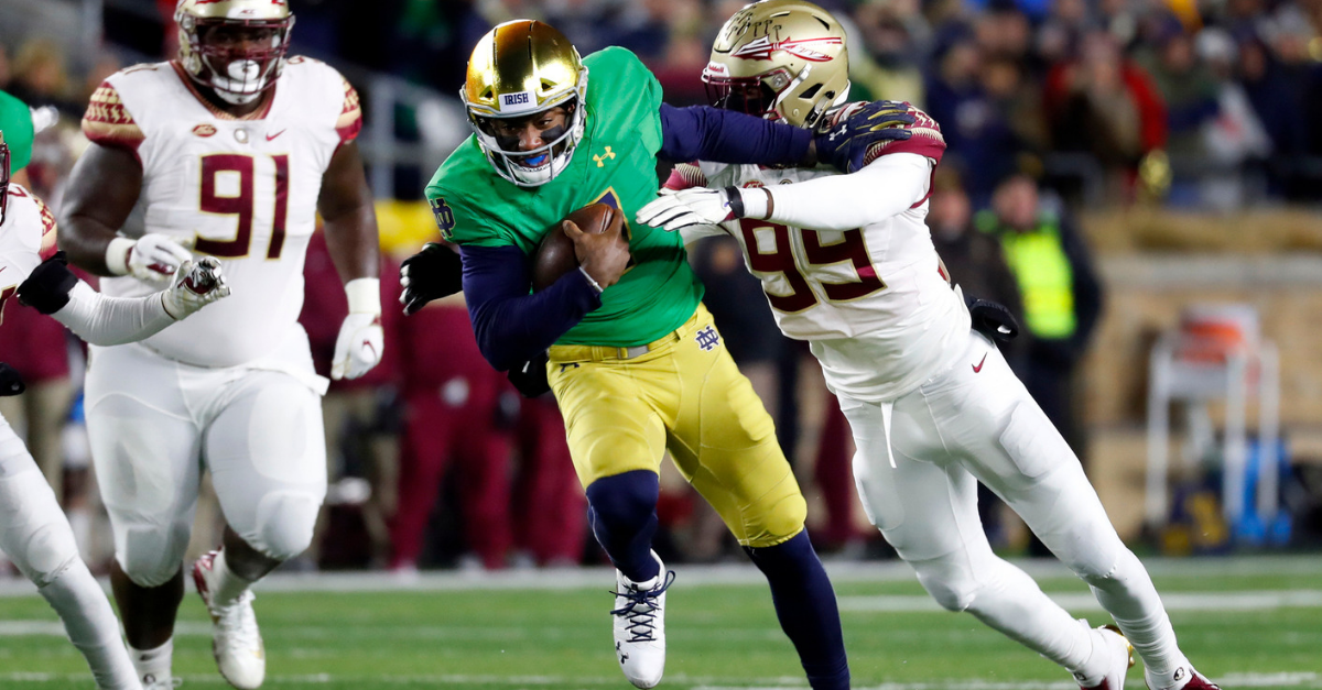 Florida State's Streak is Over, But They Still Have Notre Dame's Number