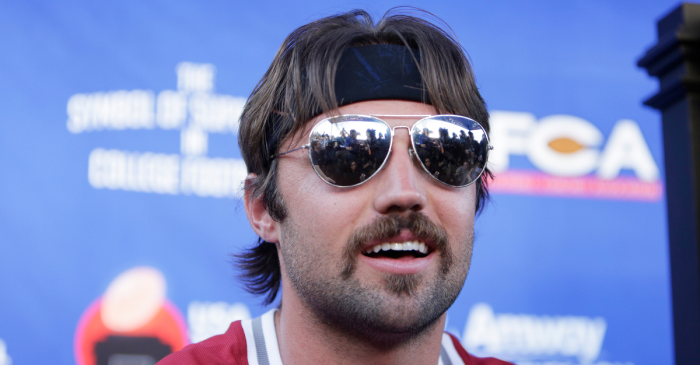 Gardner Minshew's Mustache Song was the Start of 'Minshew Mania'