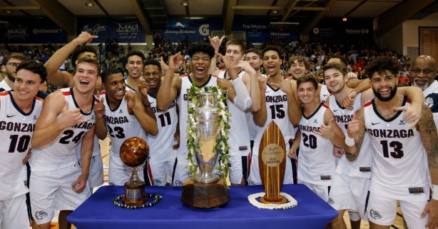 Experienced Zags Swat Away Young Duke for Coveted Maui Title