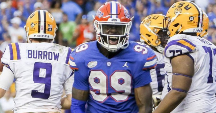 Jachai Polite is Having One of the Best Seasons Ever By a Florida DE
