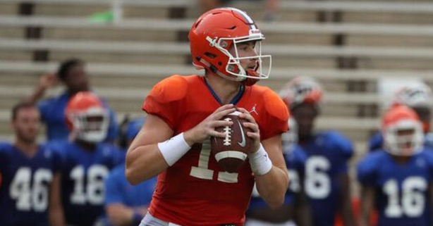 Report: Gators QB Suffers Season-Ending Foot Injury During Trick Play