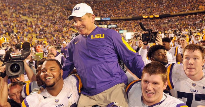 Report: Les Miles Finalizing Deal for Next Head Coaching Job in the Big 12