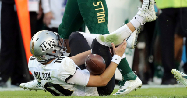 UCF Star Quarterback's Horrific Injury is Even Worse Than It Looked