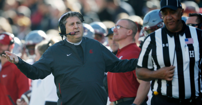If Pac-12 Coaches Had An All-Out Brawl, Mike Leach Knows Who Wins