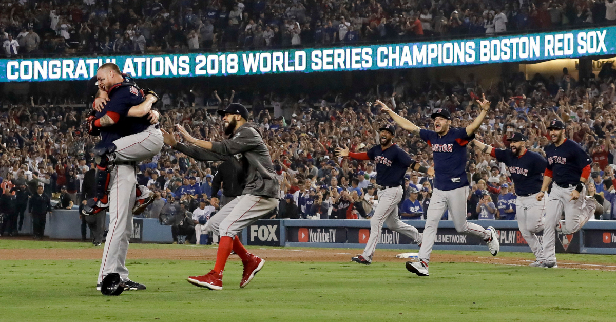 The Red Sox Celebrated Their World Series and Left a $195,000 Bar Tip