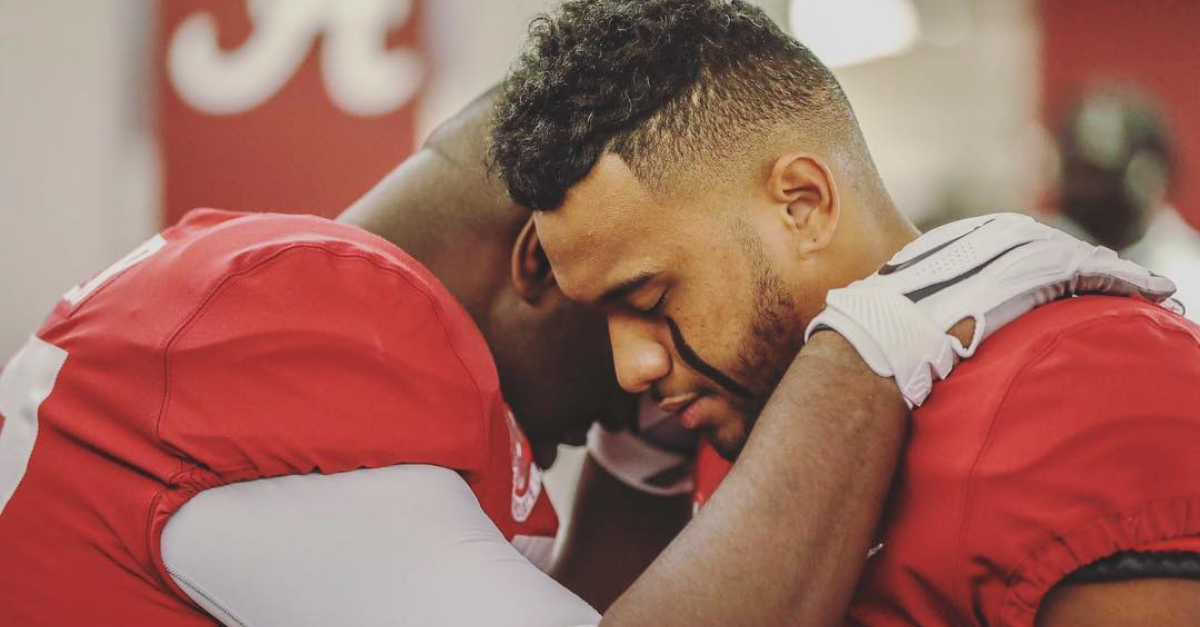 Tua Tagovailoa Praying with Cancer Patient Never Ceases to Amaze