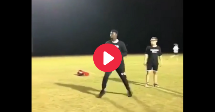 Zion Williamson Throws Footballs Farther Than NFL Quarterbacks