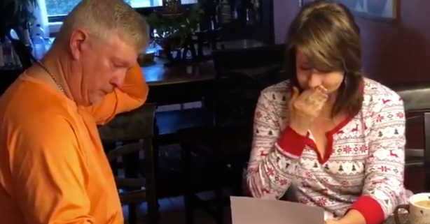WATCH: Former Gators Pitcher Gives Parents Ultimate Christmas Gift