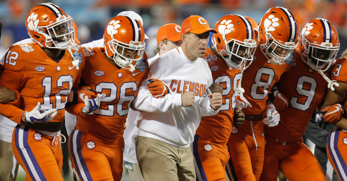 3 Clemson Players Face NCAA Ban for Failed PED Test Ahead of CFP