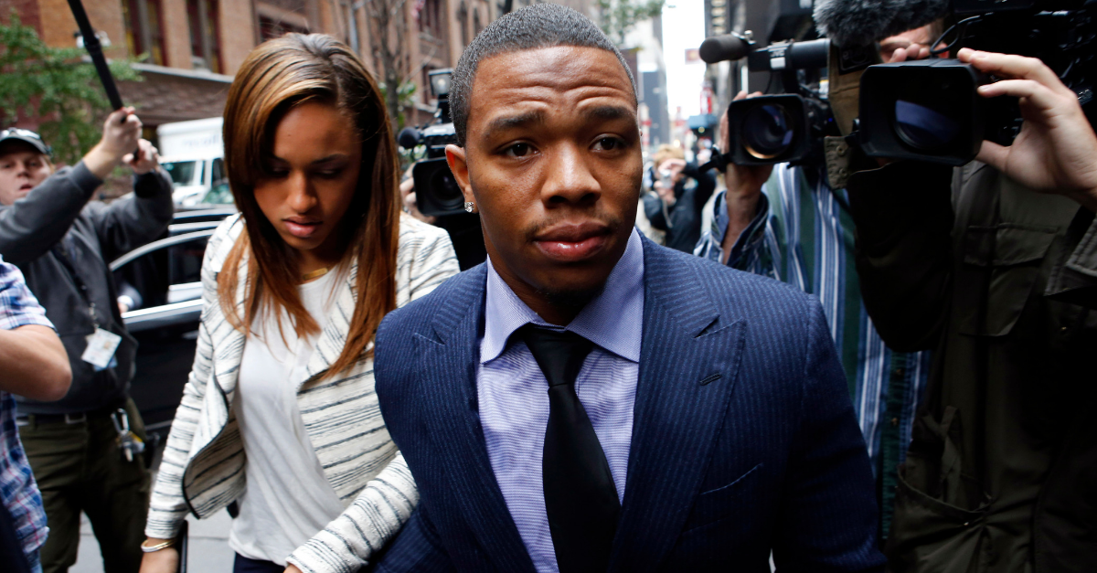 Former NFL RB Ray Rice Speaks Out About Past Domestic Violence
