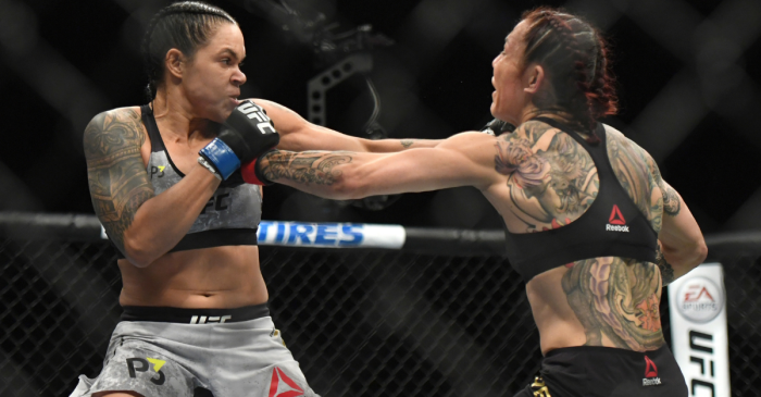 WWE Champion Congratulates Amanda Nunes on Dominating UFC 232 Win