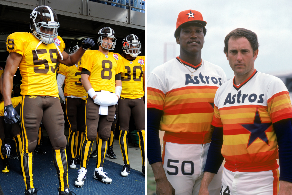 The 21 Worst Uniforms in Sports History Belong in the Dumpster