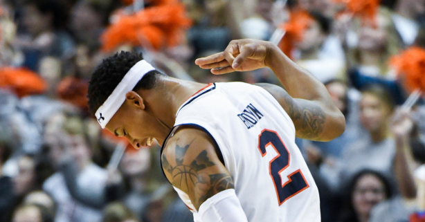 Bryce Brown's Career-High Leads No. 8 Auburn to Eighth Win