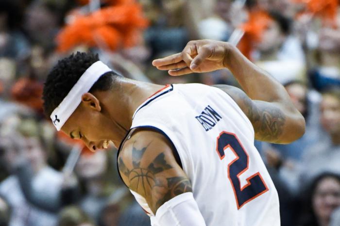 Bryce Brown's Career-High Leads No. 8 Auburn to Eighth Win