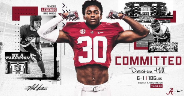 Nation's Top Safety Recruit Flips from Michigan to Alabama