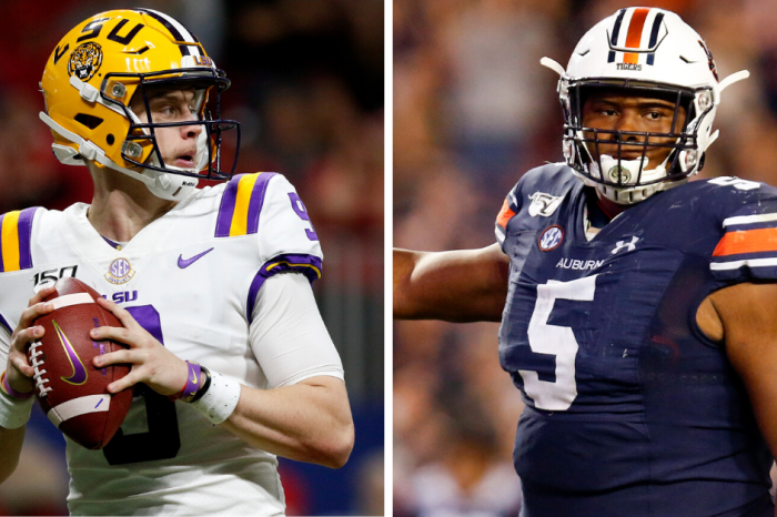 AP All-SEC Selections: Burrow, Brown Named Players of the Year
