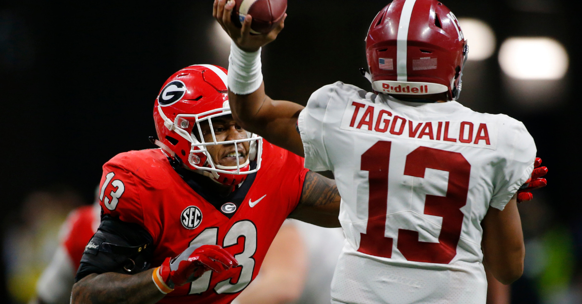 Heisman Voters Robbed Tua Tagovailoa Because of One Game
