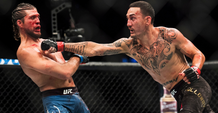 Holloway Defends Title, Dominates Ortega for TKO Win at UFC 231