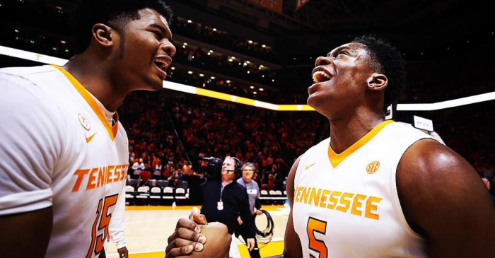 Admiral Schofield's Monster Game Helps Tennessee Beat No. 1 Gonzaga