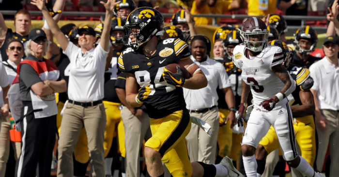 Iowa Rallies to Take Down Mississippi State in the Outback Bowl