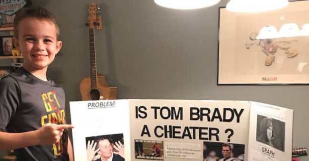 Is Tom Brady a Cheater? This 10-Year-Old Won His Science Fair Proving It