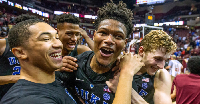 AP Top 25: Duke Remains No. 1, Coach K Breaks Poll History Record