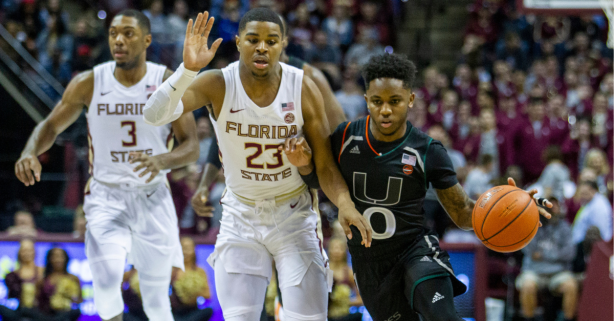 Chris Lykes' Scoring Numbers at Miami Aren't as Small as He Is