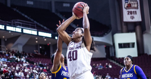 Ciera Johnson Emerges as a Great No. 2 Option for the Aggies