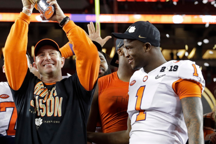 Clemson Embarrasses Alabama to Win the 2019 CFP National Championship